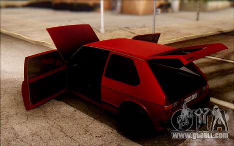 Volkswagen Golf Mk1 TAS for GTA San Andreas right view