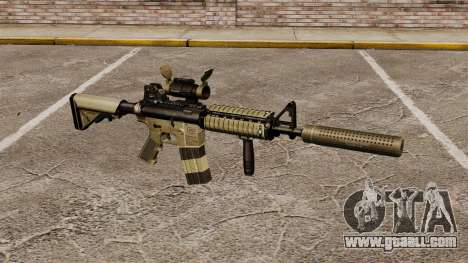 M4 carbine with silencer v1 for GTA 4