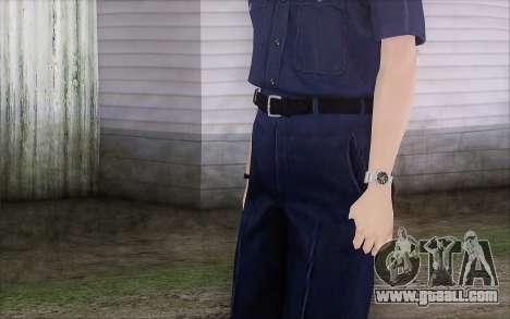 GTA 5 Police Woman for GTA San Andreas third screenshot