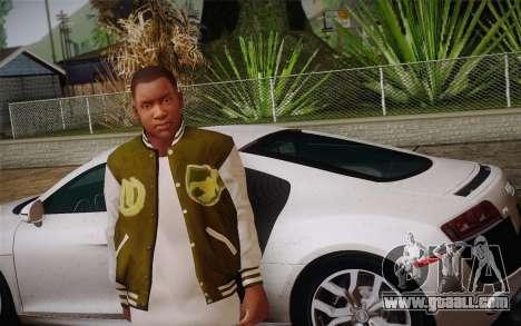 Franklin v. 2 skin for GTA San Andreas