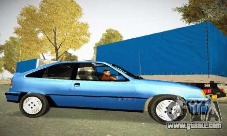Chevrolet Kadett GS 2.0 for GTA San Andreas left view