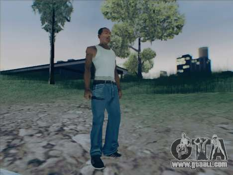 Battlefield 2142 Knife for GTA San Andreas forth screenshot