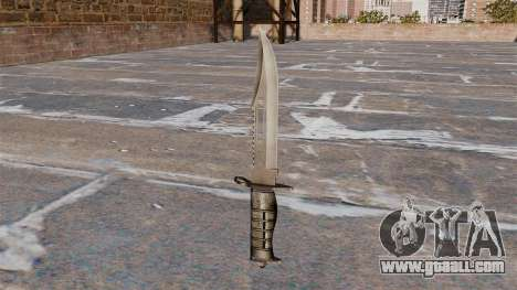 Alabama, a fighting knife for GTA 4 second screenshot