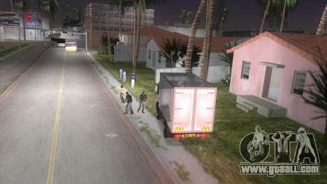 Mercedes Benz Atego for GTA Vice City right view