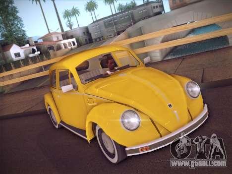 Volkswagen Käfer for GTA San Andreas left view