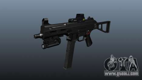 Submachine gun HK UMP 45 for GTA 4