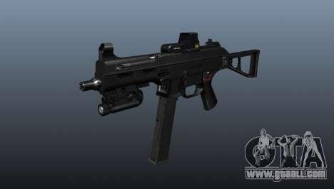 Submachine gun HK UMP 45 for GTA 4
