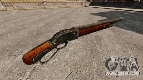 The Winchester Model 1887 shotgun v2.0 for GTA 4 second screenshot