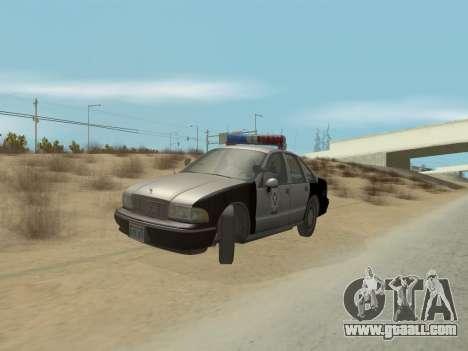 Chevrolet Caprice LVPD 1991 for GTA San Andreas