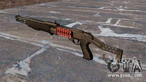 Franchi SPAS-12 shotgun Armageddon v2.0 for GTA 4 second screenshot