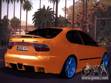 Seat Toledo Cupra R for GTA San Andreas left view