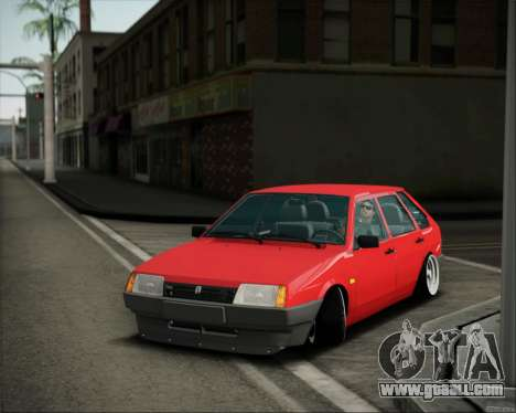 VAZ 2109 Stance for GTA San Andreas left view