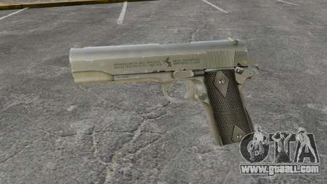 Colt M1911 pistol v3 for GTA 4 third screenshot
