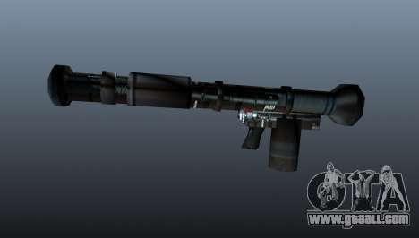 Handheld anti-tank grenade launcher for GTA 4 third screenshot