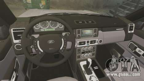 Range Rover Supercharged for GTA 4 inner view