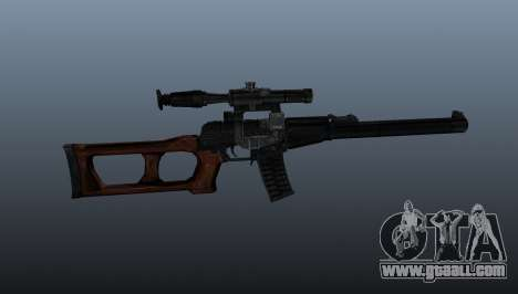 VSS Vintorez sniper rifle for GTA 4 third screenshot
