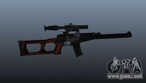 VSS Vintorez sniper rifle for GTA 4 third screenshot