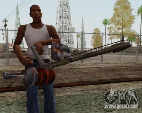 New flamethrower for GTA San Andreas third screenshot