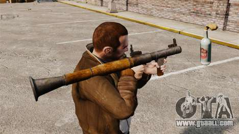 Anti-tank grenade launcher, Molotov for GTA 4
