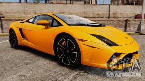 Lamborghini Gallardo 2013 for GTA 4 side view