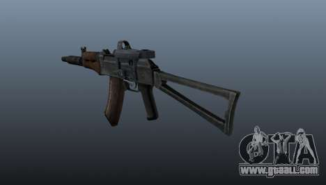 Automatic AKS74U for GTA 4 second screenshot
