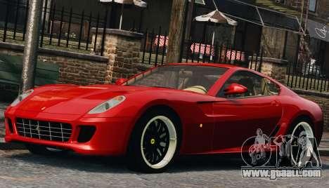 Ferrari 599 GTB Hamann 2006 for GTA 4 side view