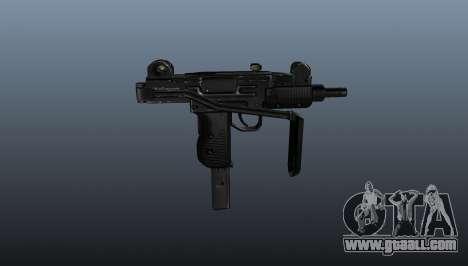 Submachine gun IMI Mini Uzi for GTA 4 third screenshot