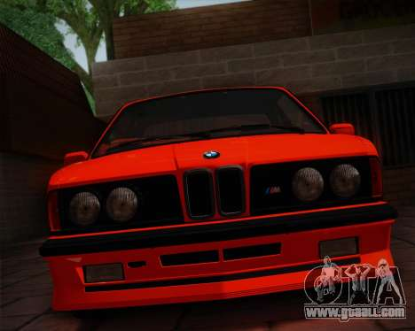 BMW E24 M635 1984 for GTA San Andreas side view