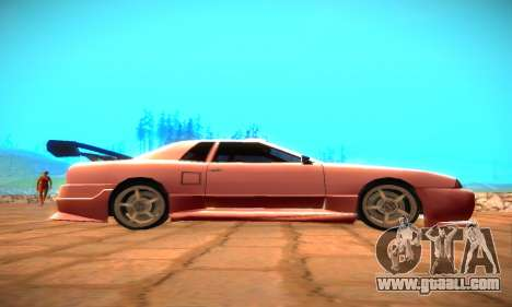 Elegy Hybrid for GTA San Andreas right view