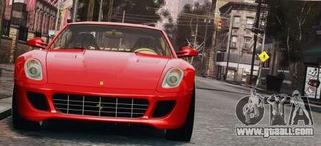 Ferrari 599 GTB Hamann 2006 for GTA 4 inner view