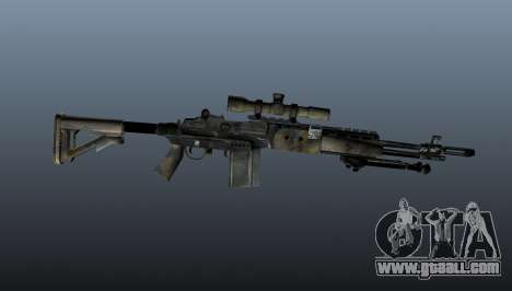 Sniper rifle M21 Mk14 v4 for GTA 4 third screenshot