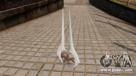 Energy sword Halo for GTA 4 second screenshot