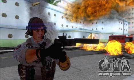 Engineer of Battlefield 4 for GTA San Andreas