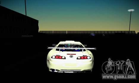 Toyota Supra for GTA San Andreas side view