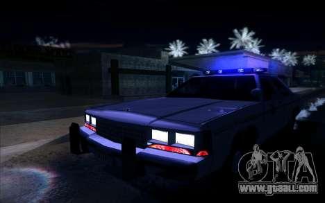 Police North Yankton for GTA San Andreas back view
