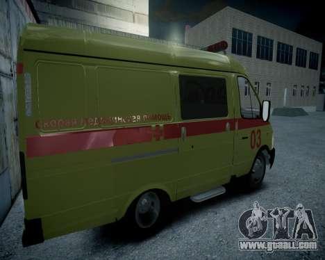 Gazelle 2705 Resuscitation v1.0 for GTA 4 right view
