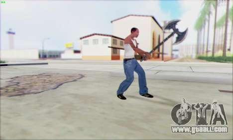 Axe Forge for GTA San Andreas third screenshot
