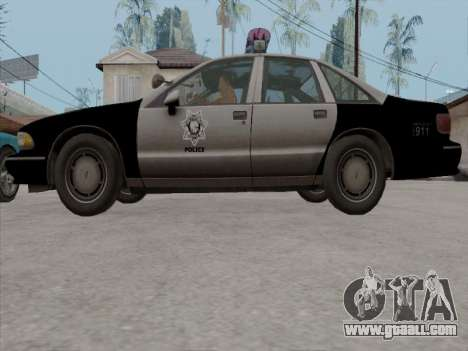 Chevrolet Caprice LVPD 1991 for GTA San Andreas side view