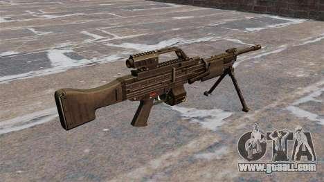 HK MG4 light machine gun for GTA 4 second screenshot