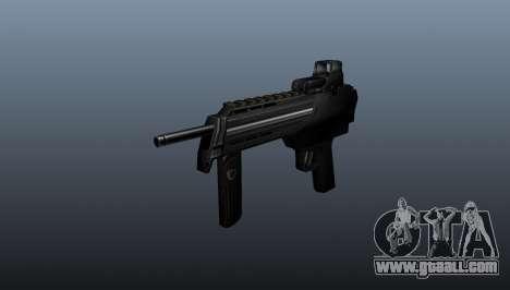 Submachine gun in half-life for GTA 4
