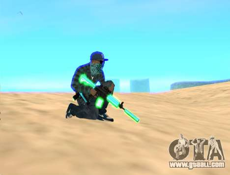 Rifa Gun Pack for GTA San Andreas third screenshot