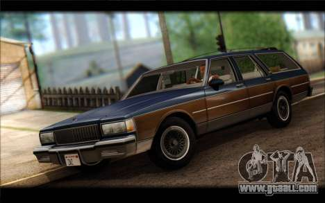 Chevrolet Caprice 1989 Station Wagon for GTA San Andreas