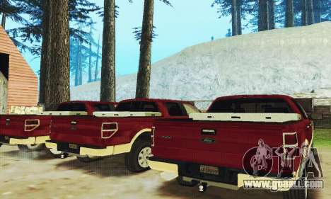 Ford F-150 KING RANCH Edition 2010 for GTA San Andreas side view