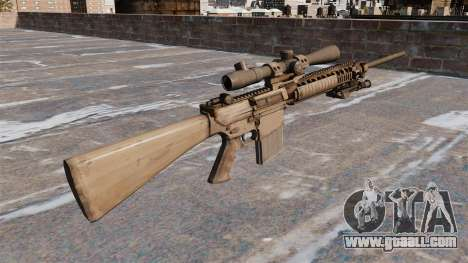 The M110 sniper rifle for GTA 4 second screenshot