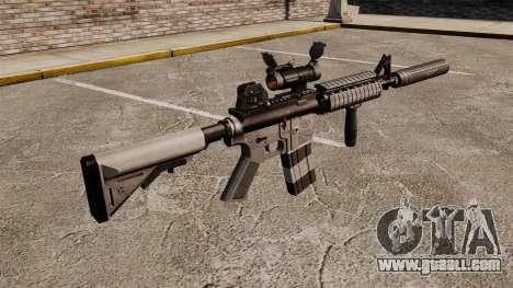 M4 carbine with silencer v2 for GTA 4 second screenshot