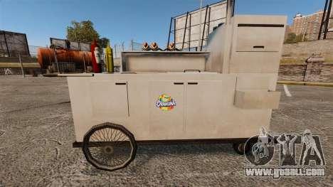 New textures of hot dog carts for GTA 4 seventh screenshot
