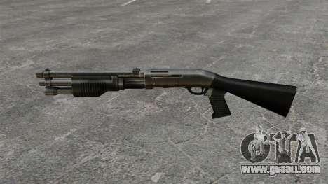 Benelli M3 Super 90 shotgun for GTA 4 third screenshot