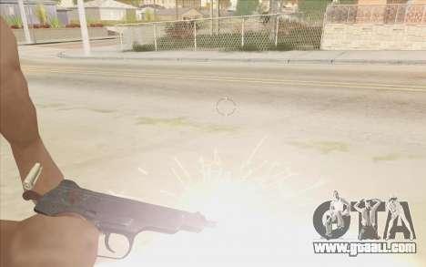 Beretta M9 v2 for GTA San Andreas second screenshot