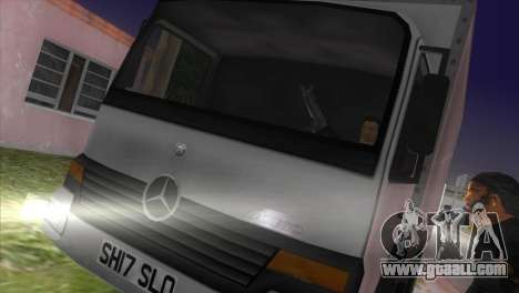 Mercedes Benz Atego for GTA Vice City left view