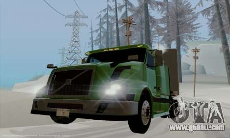Volvo VNL430 for GTA San Andreas back view